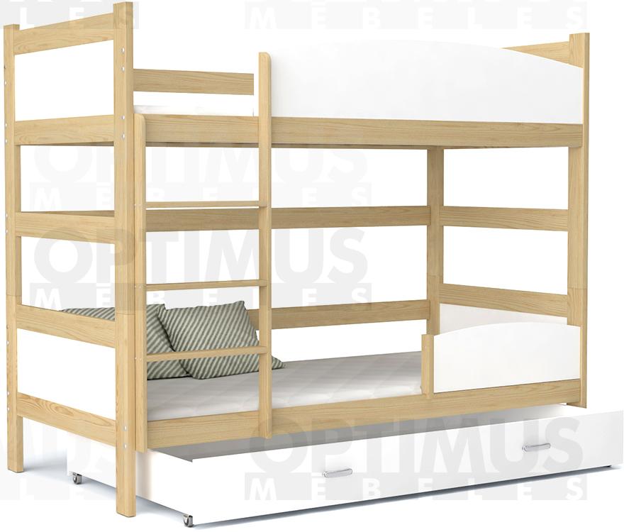Twist  2.stāvu gulta
