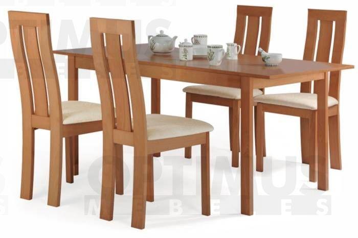 Edison  Galds+4 krēsli